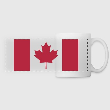Canadian Flag - Panoramic Mug