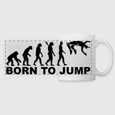 High Jump - Panoramic Mug