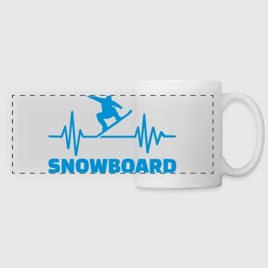 Snowboard  - Panoramic Mug