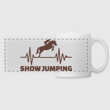 Show jumping - Panoramic Mug
