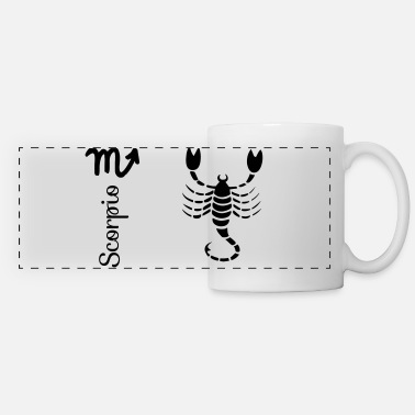 Girl Scorpio - Panoramic Mug