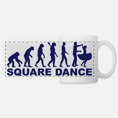 Square Square dance - Panoramic Mug