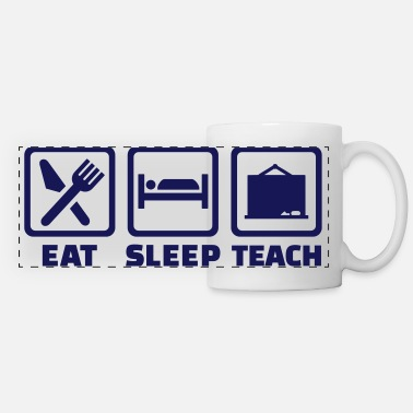Back To School Teacher - Panoramic Mug