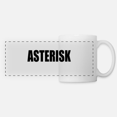 Asterisk ASTERISK - Panoramic Mug
