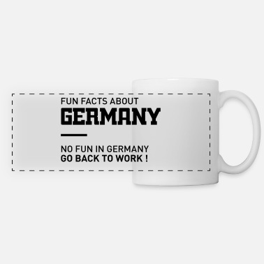fun facts about germany - Panoramic Mug