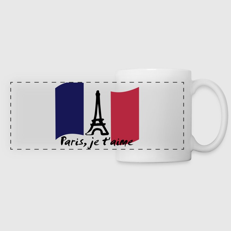 Paris, je t'aime - France - Panoramic Mug