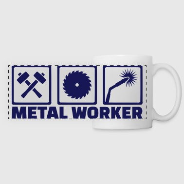 Metal worker - Panoramic Mug