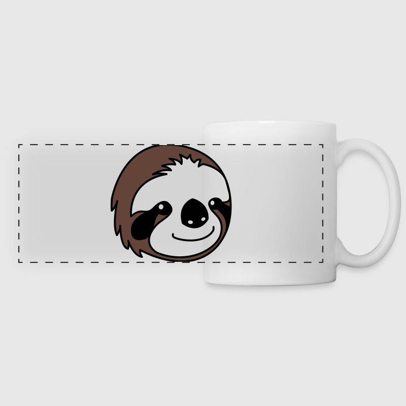 Sloth Cartoon - Panoramic Mug
