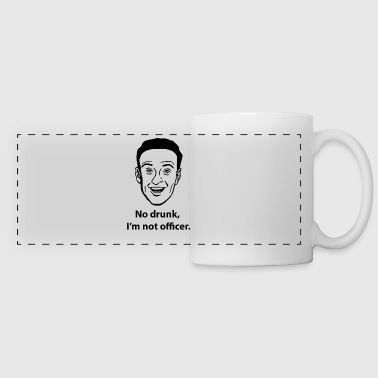 I'm not officer - Panoramic Mug