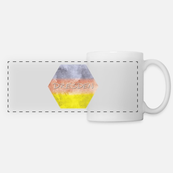 Dresden Mugs & Drinkware - Dresden - Panoramic Mug white