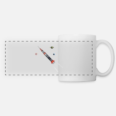 Space roket - Panoramic Mug