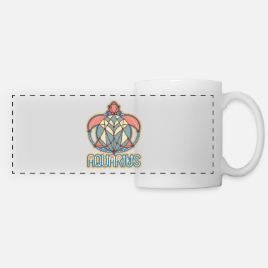 Aquarius Astrology Aquarius Astrology Birth Sign - Panoramic Mug