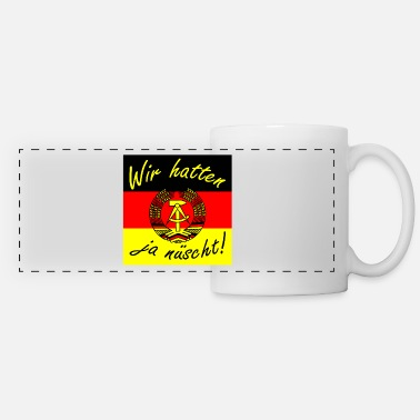 Saxony We didn't have enough present Ossi Ostdeutschland - Panoramic Mug