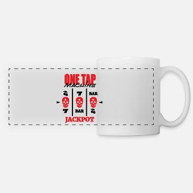 ONE TAP MACHINE CS:GO Coffee/Tea Mug - white