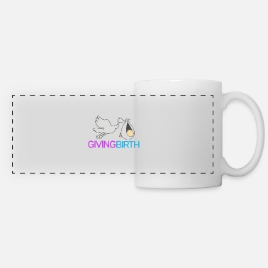 Birth Name Giving birth - Panoramic Mug