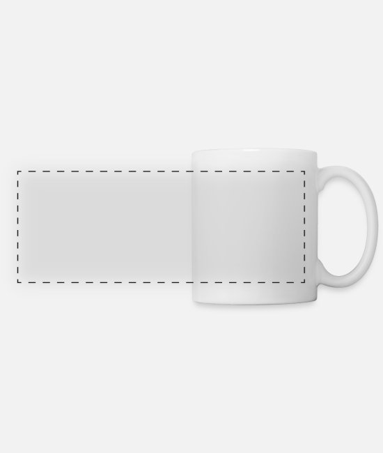 Dream Mugs & Cups - Unemployed And Living The Dream - Panoramic Mug white