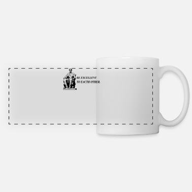 Excellency Be Excellent - Panoramic Mug