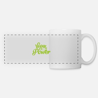 Eco Vegan power Natural Gift Plant - Panoramic Mug
