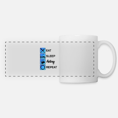 Performance Acting Actor Audition Gift - Panoramic Mug