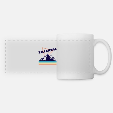Coat Of Arms Zillertal Tirol gift Austria Lederhose - Panoramic Mug