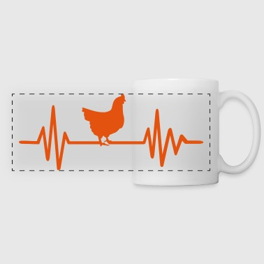 Hen - Panoramic Mug