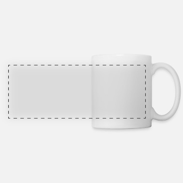 Post Retired Postal Worker product: You're No Longer - Panoramic Mug