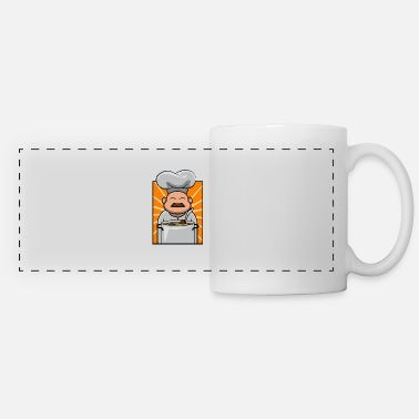 Gastro Cooking Cook Gastro Kitchen Food Chef Gift - Panoramic Mug
