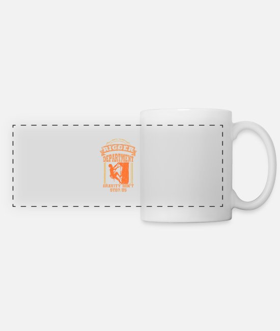 School Mugs & Cups - Rigger Stage Crew Crew Rigging Event Gift - Panoramic Mug white