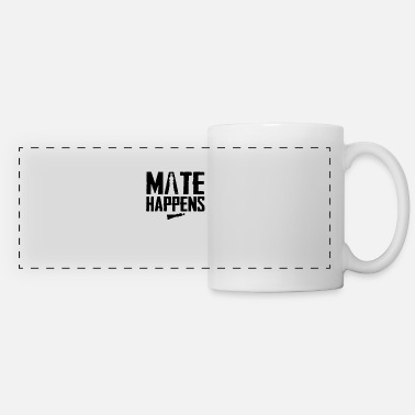 Chess Mate Happens Gift Idea For A Fan Of Chess - Panoramic Mug