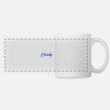 Cloudy Cloudy - Panoramic Mug