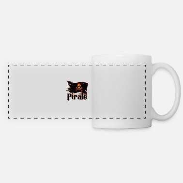 Pirate Flag Pirate Flag - Panoramic Mug