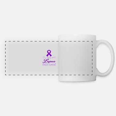 Lupus Lupus Awareness T-shirt - Panoramic Mug