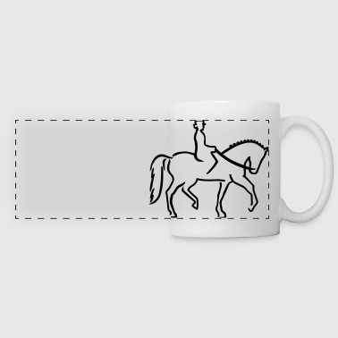 Dressage - Panoramic Mug