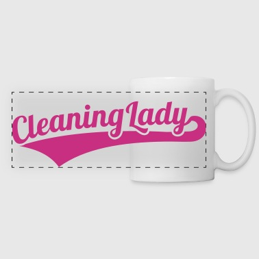 Cleaning lady - Panoramic Mug