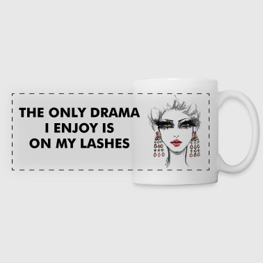 LASHES - Panoramic Mug