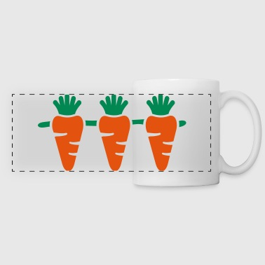 Carrots - Panoramic Mug