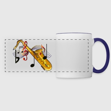 Saxophone - Panoramic Mug