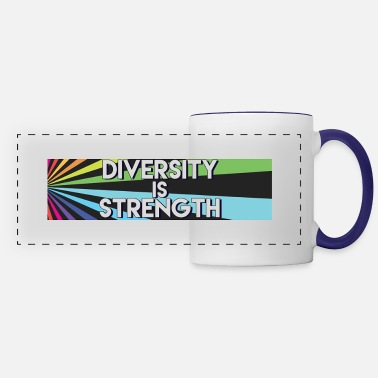 Diversity Strength - Panoramic Mug