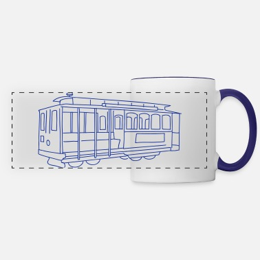 Cable Car San Francisco Cable Car - Panoramic Mug