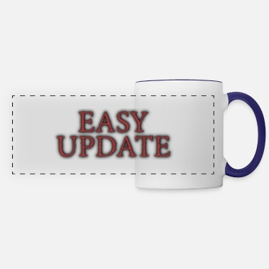 Easy Easy Update Logo Red - Panoramic Mug