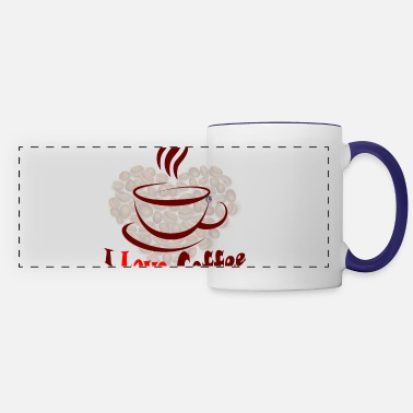 Love Coffee - Panoramic Mug