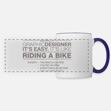 Easy Graphic designer - Panoramic Mug