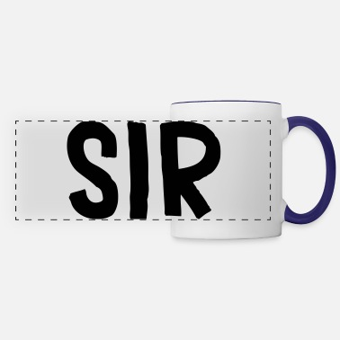 Sir sir - Panoramic Mug