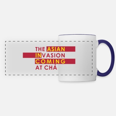 Asian Asian Invasion Asian in Coming - Panoramic Mug
