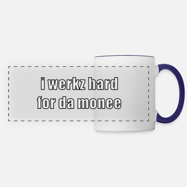 Word i werkz hard - Panoramic Mug