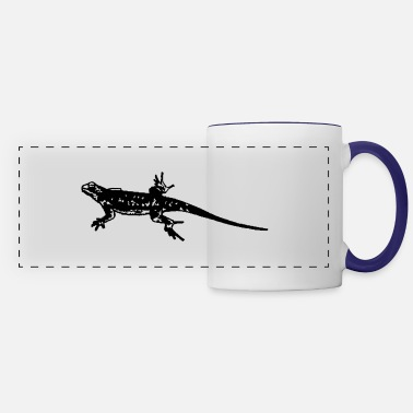 Lizard lizard - Panoramic Mug