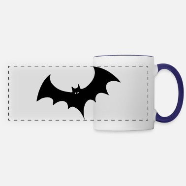 O Dia Das Bruxas Bat - Panoramic Mug