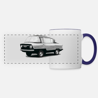 Muscle Vintage Soviet Muscle Car - Panoramic Mug