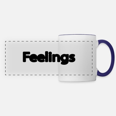 Feeling feelings - Panoramic Mug
