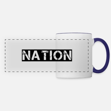 Nation nation - Panoramic Mug